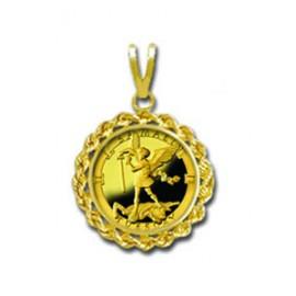 Samael/Tuesday 1/20 oz Gold Medallion Pendant