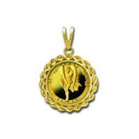 Anael/Friday 1/20 oz Gold Medallion Pendant