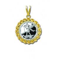 Samael/Tuesday 1/20 oz Silver Medallion Pendant