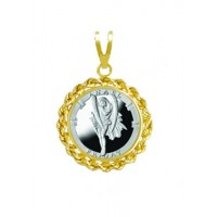 Anael/Friday 1/20 oz Silver Medallion Pendant