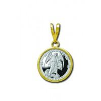 Michael/Sunday 1/20 oz Silver Medallion Pendant