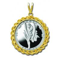 Anael/Friday 1/4 oz Silver Medallion Pendant