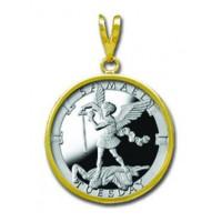 Samael/Tuesday 1/4 oz Silver Medallion Pendant