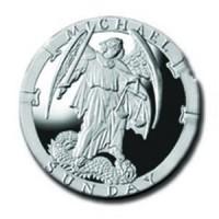 Michael/Sunday 1/4 oz Silver Pocket Angels Medallion