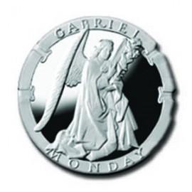 Gabriel/Monday 1/4 oz Silver Pocket Angels Medallion