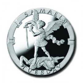 Samael/Tuesday 1/4 oz Silver Pocket Angels Medallion