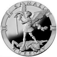 Samael/Tuesday Collector's Limited Edition 1 oz Silver Medallion