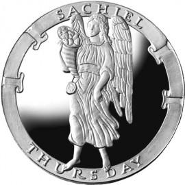 Sachiel/Thursday Collector's Limited Edition 1 oz Silver Medallion