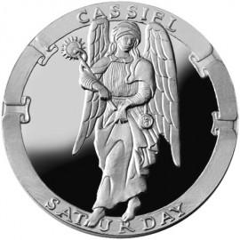 Cassiel/Saturday Collector's Limited Edition 1 oz Silver Medallion