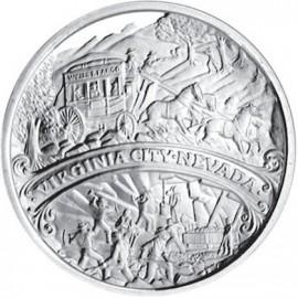 1 oz Silver Comstock Medallion