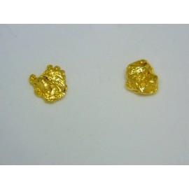 ENUG593 ~ Australian Gold Nugget Earrings
