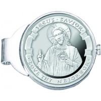 Love Thy Neighbor 1 oz Silver Medallion Money Clip