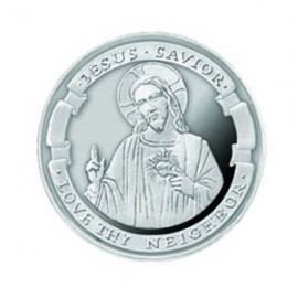 Love Thy Neighbor 1/4 oz Silver Pocket Memorials