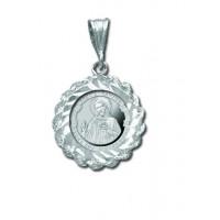 Love Thy Neighbor 1/20 oz Silver Medallion Pendant