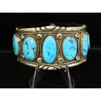 Navajo Turquoise Cuff