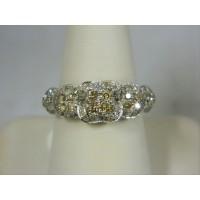 R1169 ~ 18k .76 cttw Diamond Ring