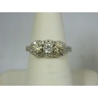 R1288 ~ 18k 1.2 cttw Diamond Ring