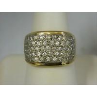 R1750 ~ 14k 3+ cttw Diamond Ring