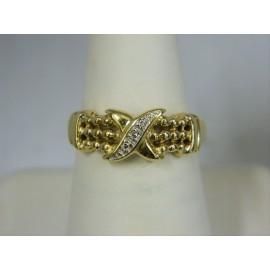 R264 ~ 14k Diamond Ring