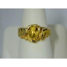 RNUG1446 ~ 14k Nugget Ring