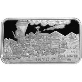 1 oz .999 Silver V&T Railway Inyo Train Ingot