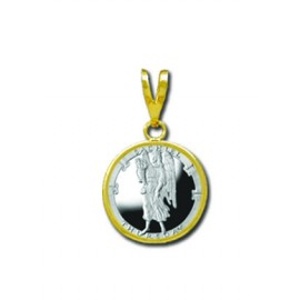 Sachiel/Thursday 1/20 oz Silver Medallion Pendant