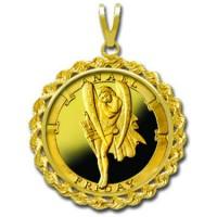 Anael/Friday 1/4 oz Gold Medallion Pendant