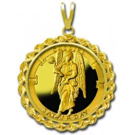 Cassiel/Friday 1/4 oz Gold Medallion Pendant