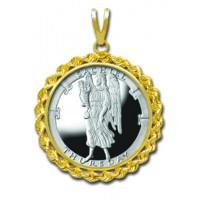 Sachiel/Thursday 1/4 oz Silver Medallion Pendant