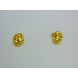 ENUG313 ~ Australian Gold Nugget Earrings