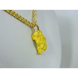PNUG680 ~ Gold Nugget Pendant