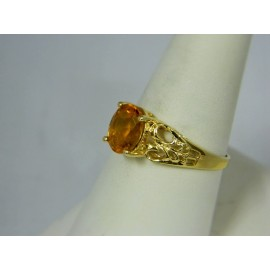 R249 ~ 10k Citrine Ring