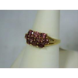 R362 ~ 14k Pink Tourmaline Ring