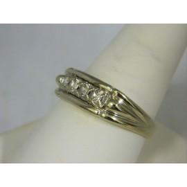 R398 ~ 14k Diamond Ring