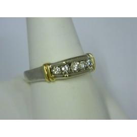 R949 ~ 14k (5) Diamond Band