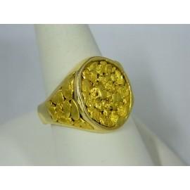 RNUG1569 ~ 14k Nugget Ring